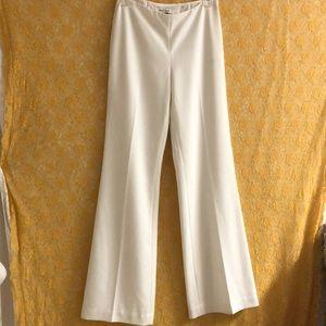 WHBM white wide leg pants sz 0 Legacy